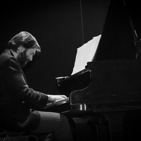 Pablo Borrás. Presentación de AIRE, Teatro Hasta Trilce
