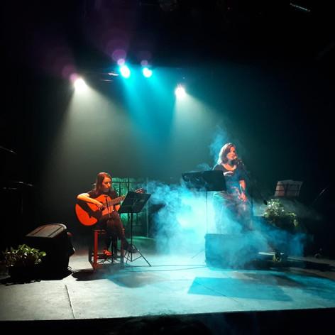 con Rosa Príncipe, Teatro Hasta Trilce