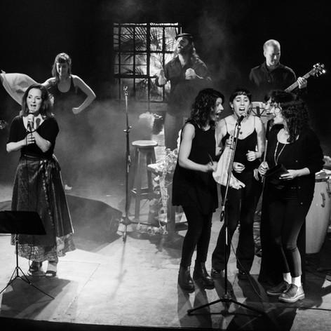 Luna landó. Presentación de AIRE, Teatro Hasta Trilce