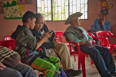 Caseta Comunal Vereda La Legiosa - Municipio de Colombia, Huila