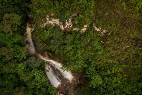 Cascada La Promesa, Quebrada El Purgatorio - Municipio de Colombia, Huila