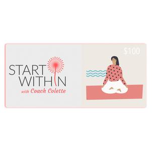 Start Within eGift Cards
