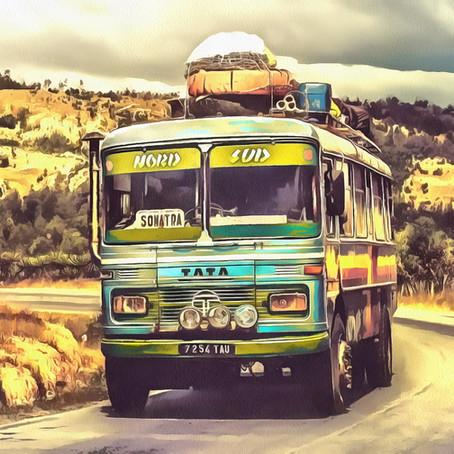 नुसरत फतेह अली खान की ग़ज़ल और लाल धारियों वाली पीली बस के यात्री ...