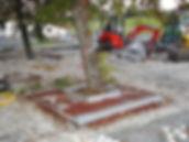 Unterflurbaumrost 505-Univers für Bestandsbaum