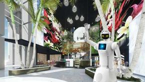 Robôs fazem atendimento em novo hotel na África do Sul