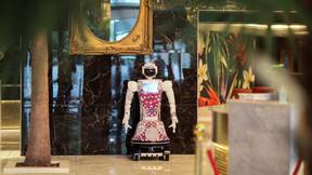 Robôs são atendentes em novo hotel da África do Sul