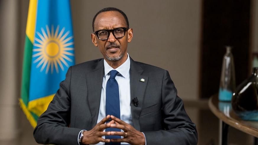 Paul Kagame - Presidente do Ruanda