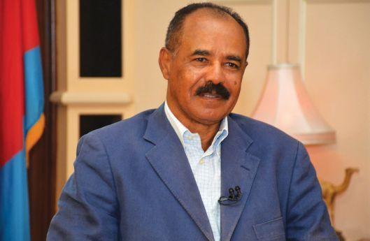 Isaias Afewerki - Presidente da Eritreia