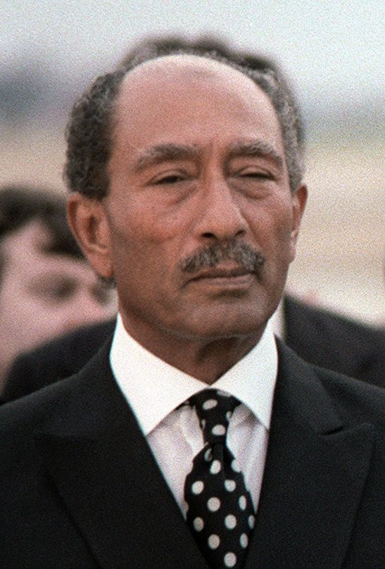 Muhammad Al Sadat Nobel da Paz 1978 Egito