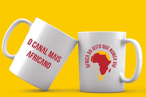 Caneca Oficial Mais Africano
