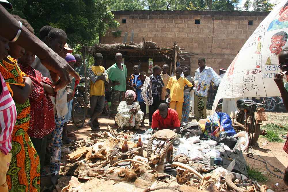 Medicina tradicional em Uagadugu, Burkina Faso
