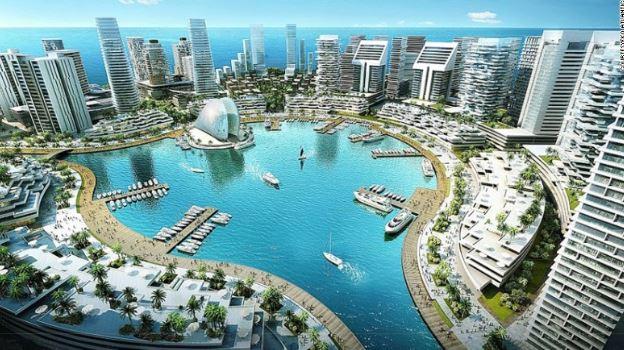 Arquitetura africana: Eko Atlantic City