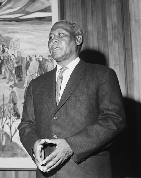 Albert Lutuli Nobel da Paz 1961 Rodesia do Sul Africa Sharpeville