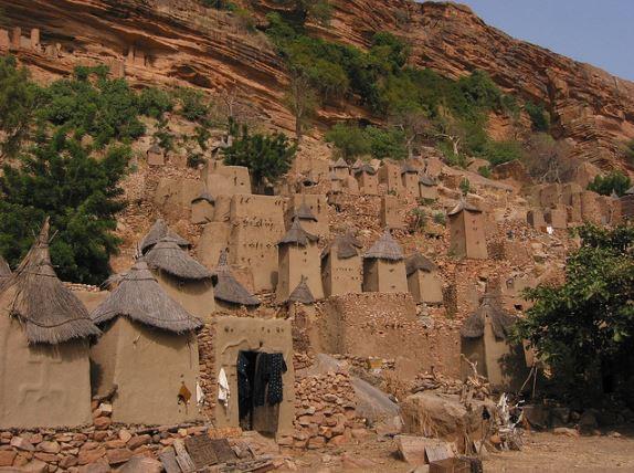 Arquitetura africana: Dogons