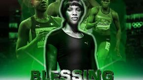 Blessing Okagbare anuncia entrada no Livro de Recordes do Guinness