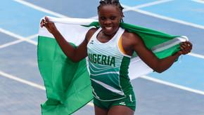 Campeã de salto triplo dos Jogos Africanos, Anigbata admite nervosismo antes do ouro