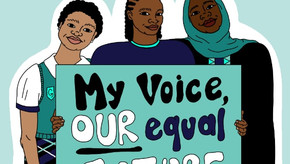 Programa para aumentar a conscientização sobre a educação para meninas na África