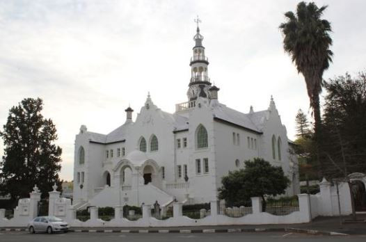 Arquitetura africana: Igreja Holandesa reformada