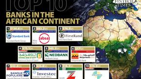 Os dez maiores bancos do continente africano