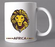 Caneca Africa Leão