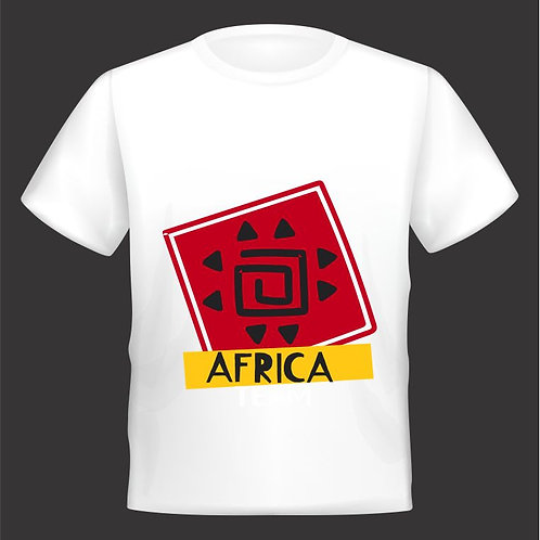 Camiseta África.