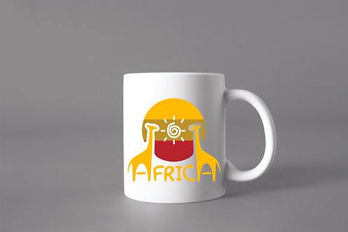 Caneca África Animais