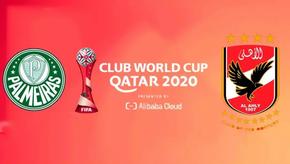 Al Ahly do Egito disputa o terceiro lugar do Mundial de Clubes da FIFA contra o Palmeiras do Brasil