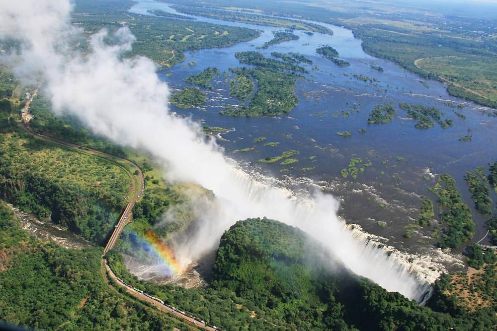 Victoria Falls (Cataratas de Vitória), Zâmbia
