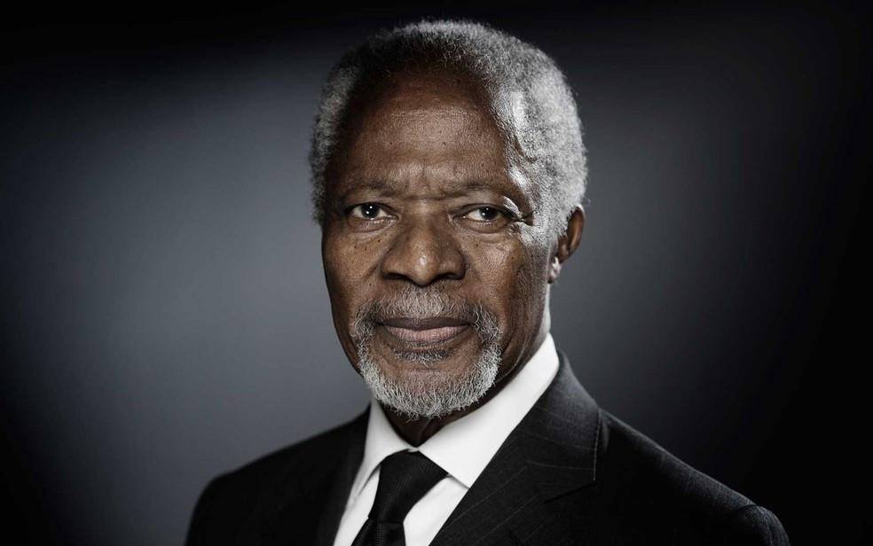 Kofi Annan Nobel da Paz ONU Gana 2001