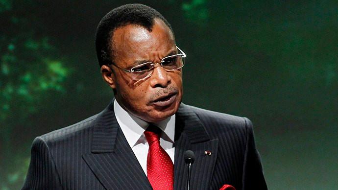 Denis Sassou Nguesso - Presidente da República do Congo