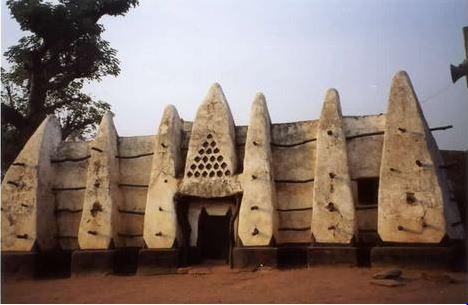 Arquitetura africana: mesquita Ashanti