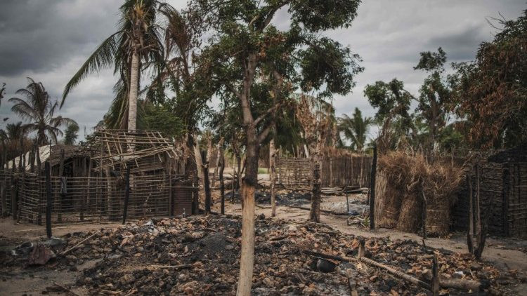 Aldeia da Paz, em Moçambique, atacada em qagosto de 2019  (AFP or licensors)