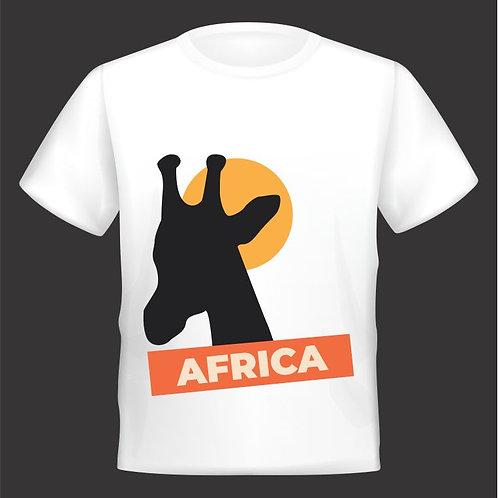 Camiseta África Girafa