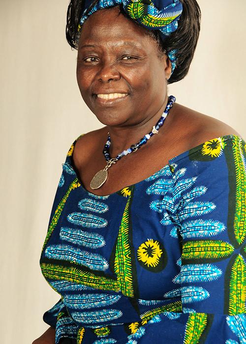 Wangari Maathai Nobel Paz 2004 Quenia