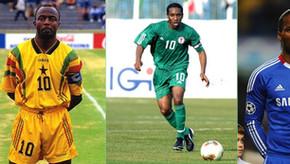05 maiores jogadores africanos de futebol
