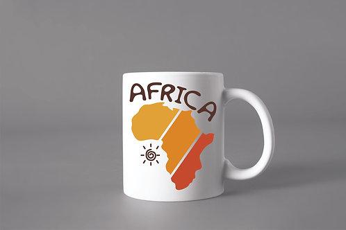 Caneca África Cores