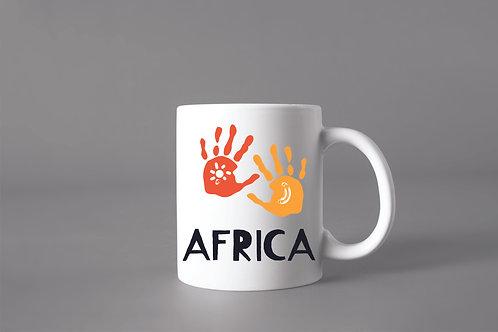 Caneca África Mãos