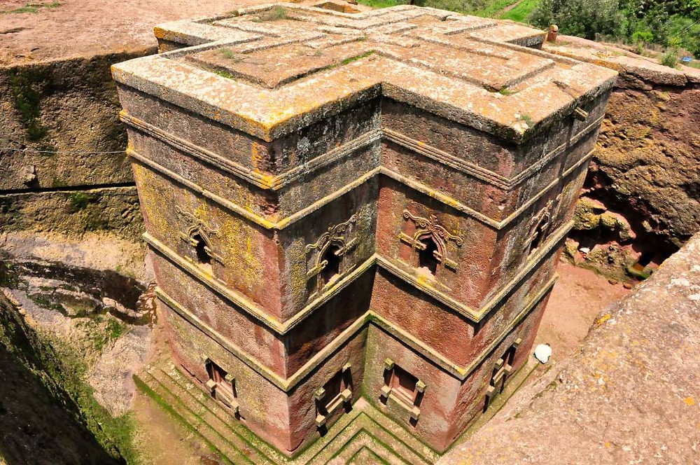 Igrejas Escavadas de Lalibela, Etiópia