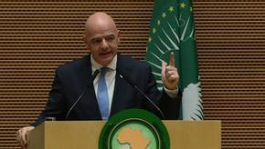 Presidente da União Africana e presidente da FIFA discutem forte colaboração em curso