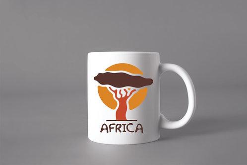 Caneca África Árvore