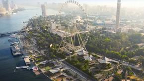 Maior roda gigante de África será inaugurada no Egito em 2022.