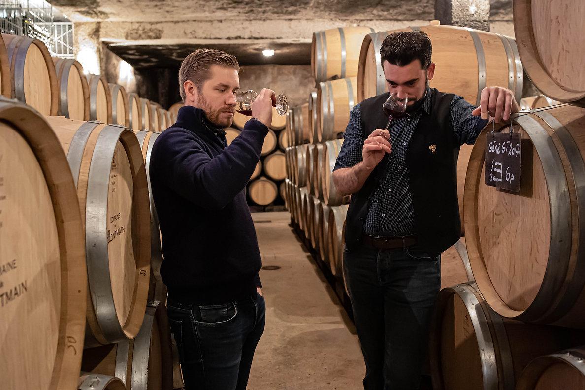 Visite des caves et Dégustation de vins