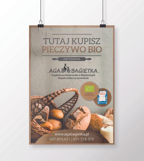 Plakat A3 - Aga Bagietka - 05  2018 - wi