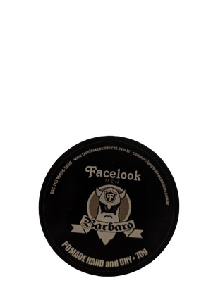 POMADE HARD AND DRY BARBARO FACELOOK MEN