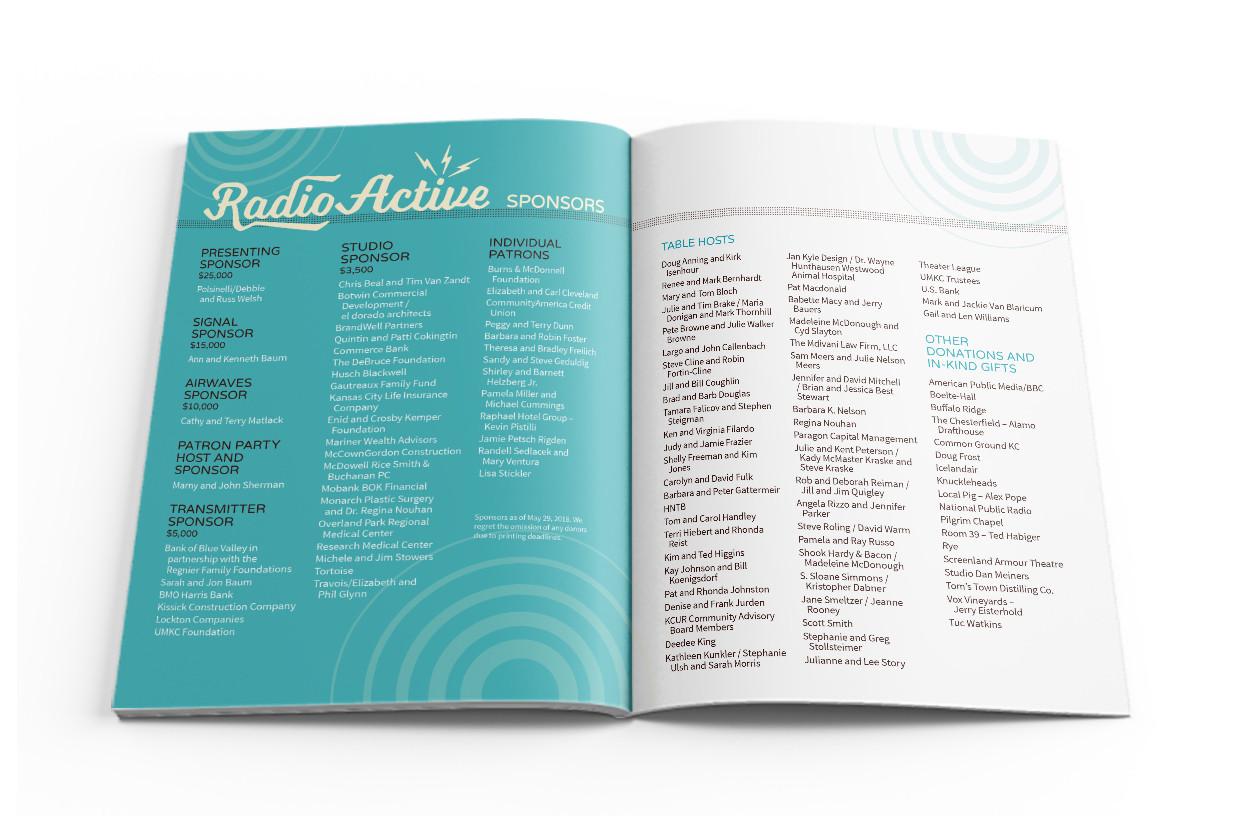 RadioActive Program Spread