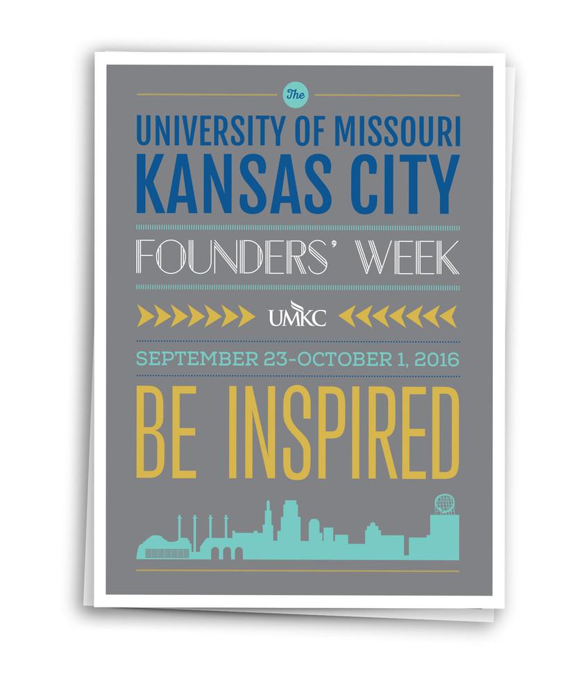 UMKC Founders Week Newspaper Insert
