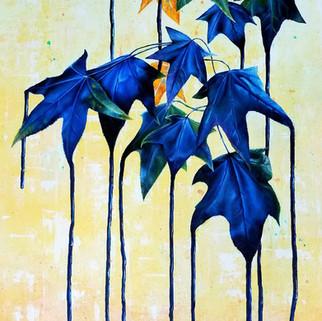 Blue Mood (oils)