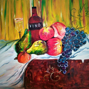 Basu_Oil on Canvas_24by30_Bounties of Na