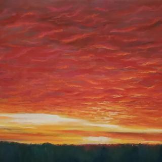 MonikaGupta_Artist_Sunset_ClosingCurtain