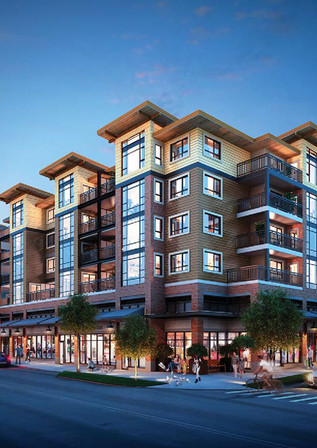Leased 700 sf of Brand New Retail Space  at 82 Kyle in Port Moody